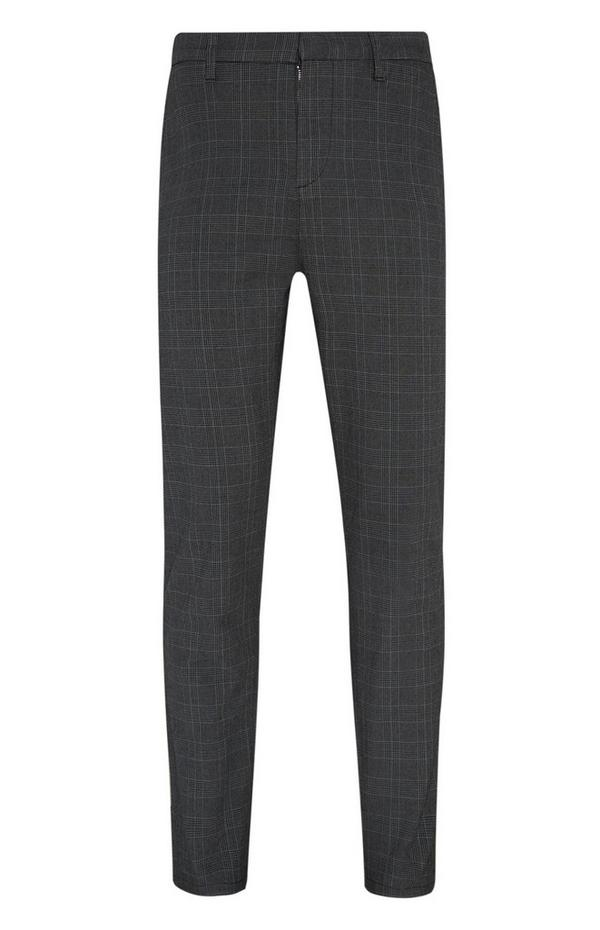 Slim Check Trousers