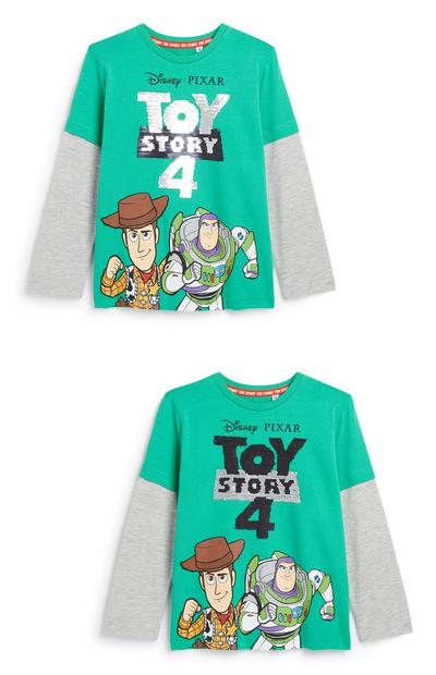 Jongens top met pailletten Toy Story