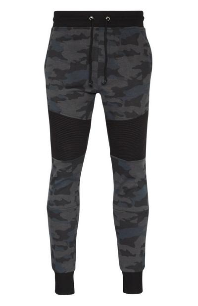 Joggingbroek met camouflageprint