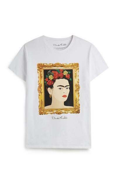 T-shirt pintura Frida