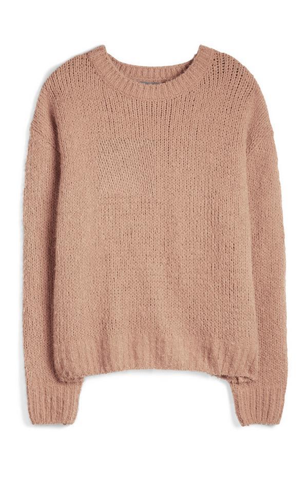 Camelkleurige trui