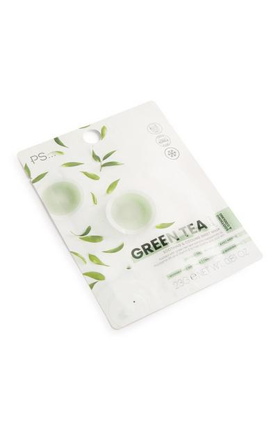 Mascarilla facial de té verde
