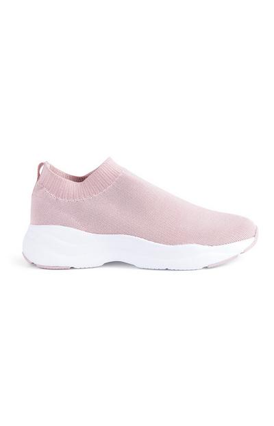 Pink Sock Trainers