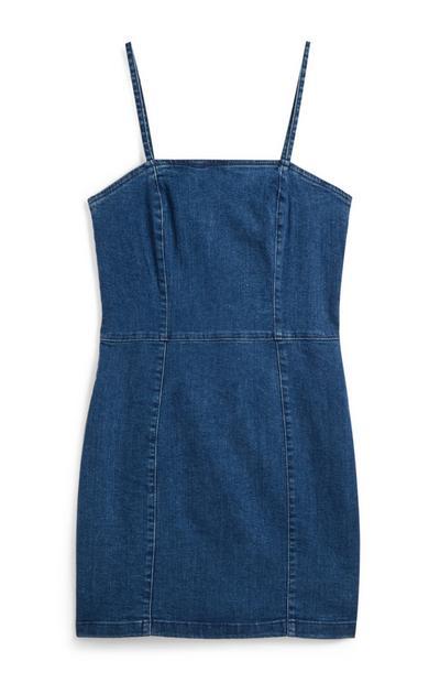 Mini-Jeanskleid