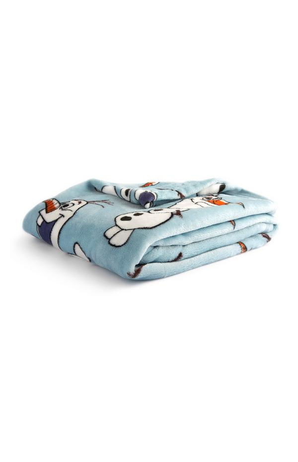 Frozen Supersoft Olaf Throw