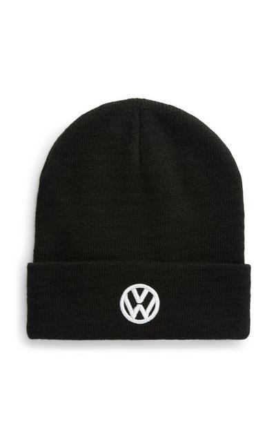 Zwarte Volkswagen-beanie