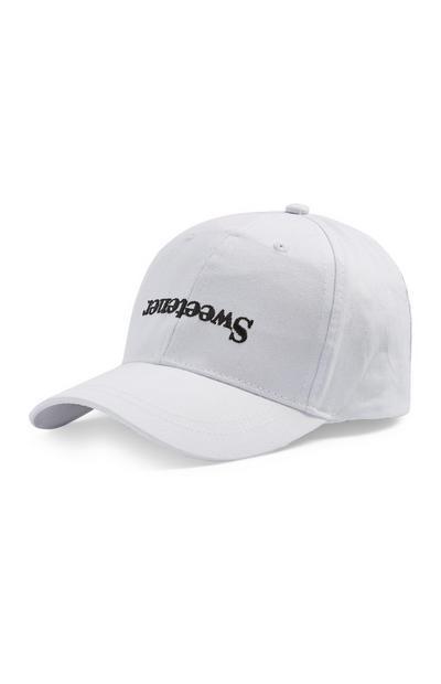 Cappellino Sweetener bianco Ariana Grande