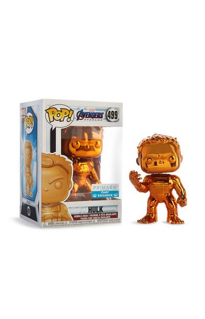 Oranje Hulk Bobble Head, vinyl-figuur