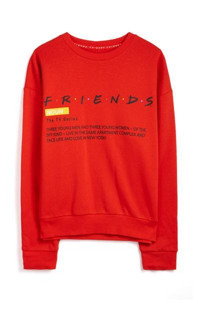 Rdeč pulover Friends
