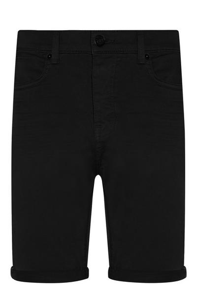 Black Stretch Short
