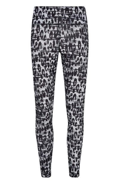 High Waist Leopard Print Leggings