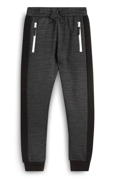 Older Girl Charcoal Joggers