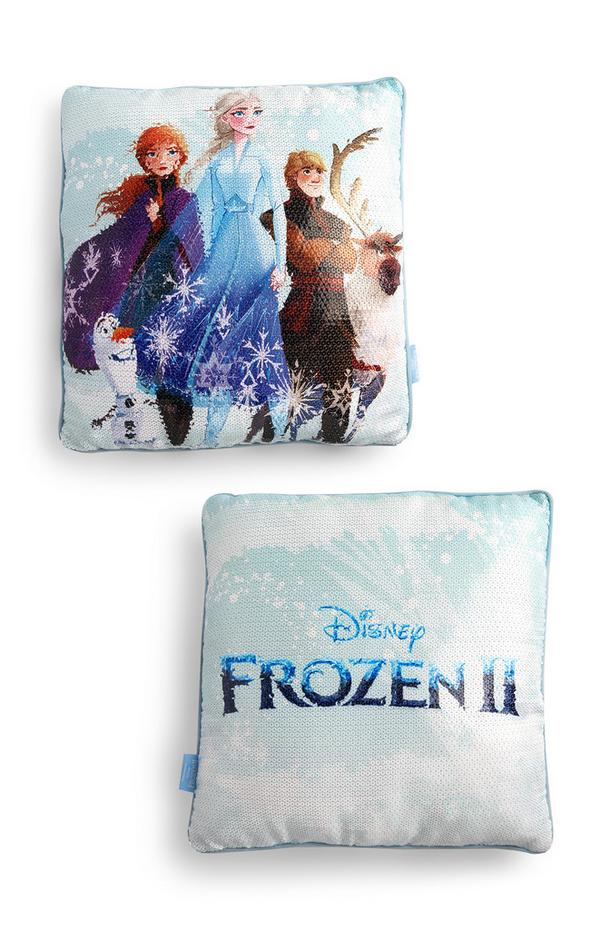 """Frozen"" Paillettenkissen"