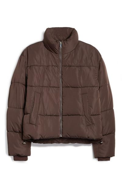Chocolate Puffer Jacket