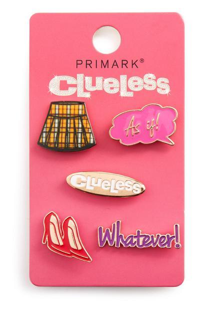 Clueless Badges 5Pk