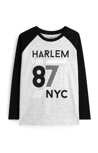 T-shirt Harlem garçon
