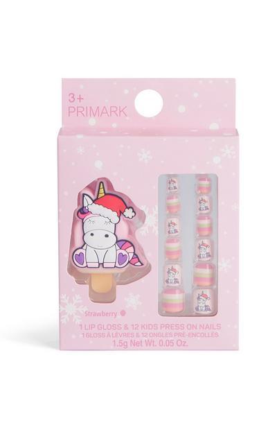 Lipgloss & plaknagels voor kinderen