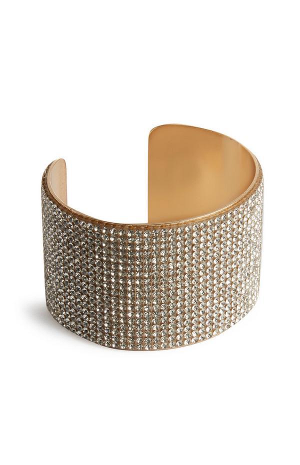 Bracelet à strass