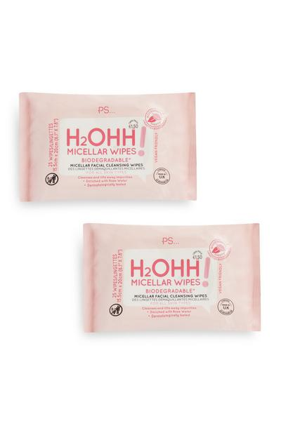 H2ohh Biodegrable Cleansing Wipes