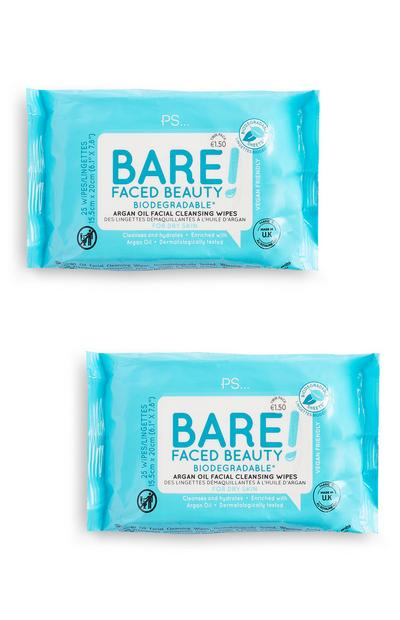 Bare Faced Beauty Biodegradable Wipes