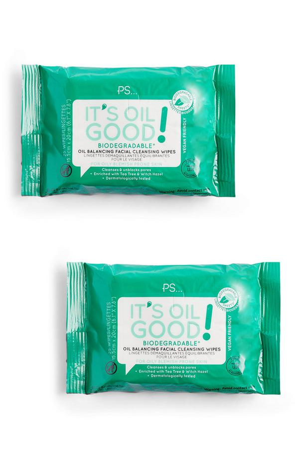 It's Oil Good Biodegradable Wipes