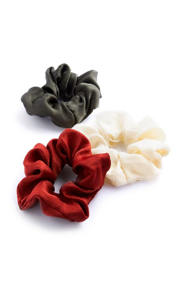Scrunchies, 3er-Pack