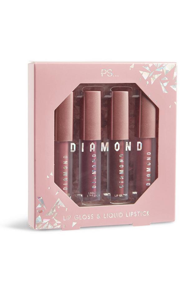Diamond Lipgloss 4Pk