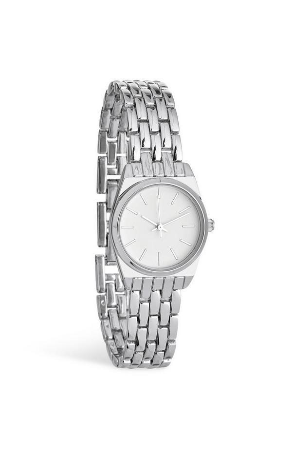 Silver Chain Wrist Watch