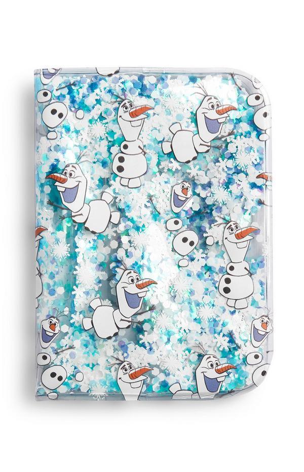 Paspoorthoesje met Olaf uit Frozen