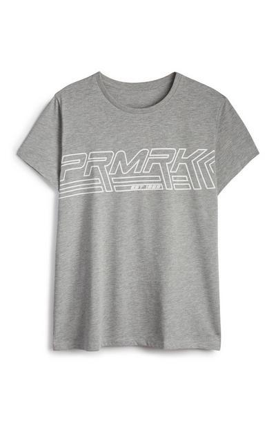T-shirt grigia PRMRK