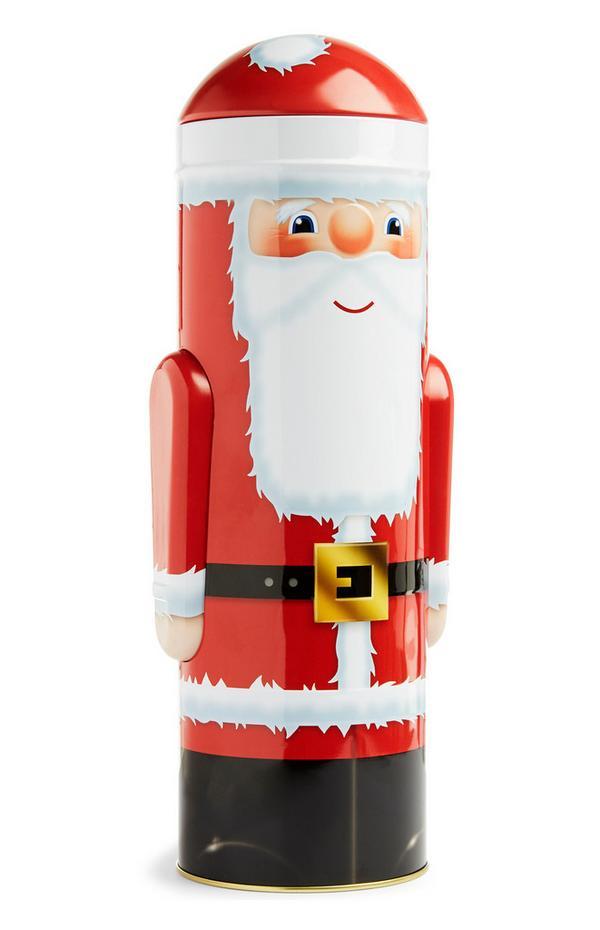 Grande boîte à biscuits Père Noël