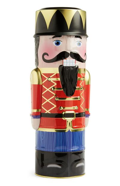 Large Nutcracker Biscuit Tin