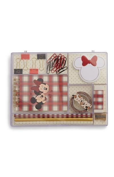 Kit de papeterie Minnie et Mickey Mouse