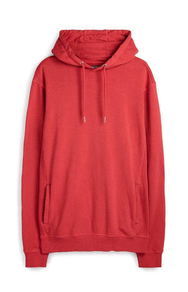 Sweat à capuche Premium rouge