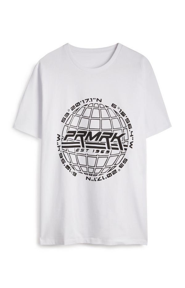 T-shirt PRMRK branco