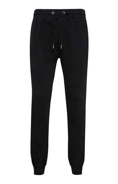 Zwarte premium-joggingbroek