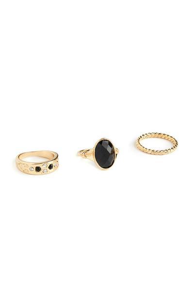 Ringen, set van 3