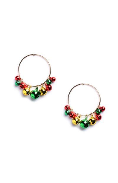 Bauble Hoop Earrings