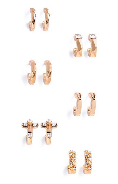 Hoop Earring 6Pk