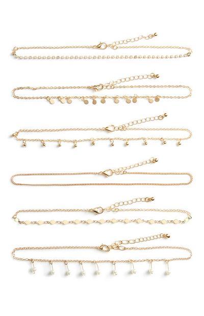Tesna ogrlica, 6 kosov
