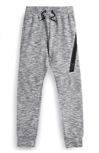 Older Boy Grey Marl Jogger