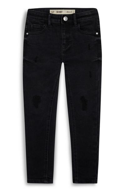 Younger Girl Black Skinny Jeans