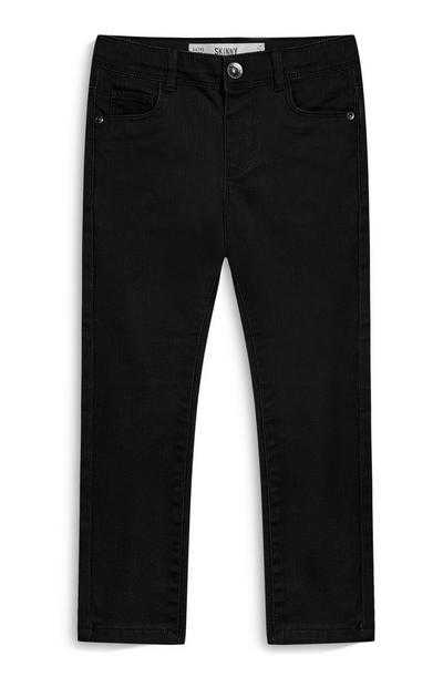 Jeans skinny neri da bambina