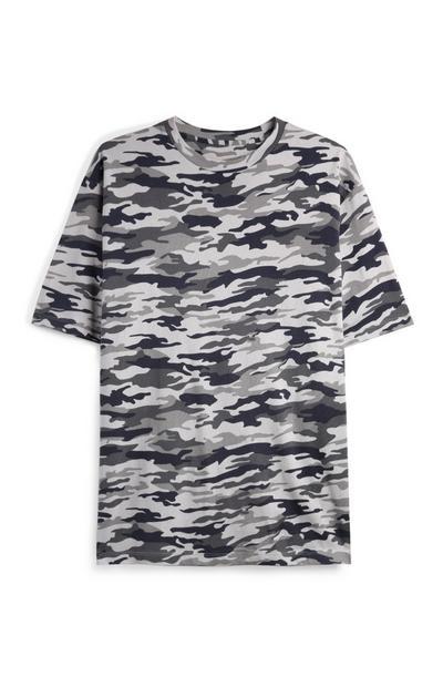 Majica s kamuflažnim vzorcem