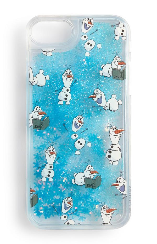 Telefoonhoesje voor iPhone met Olaf uit Frozen