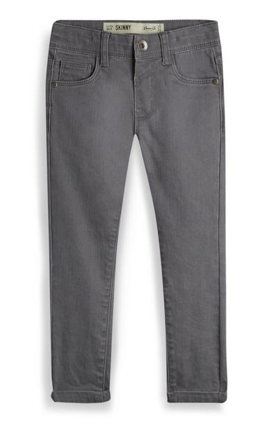 Younger Boy Grey Skinny Jeans