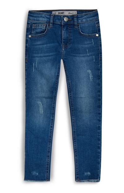 Jean skinny bleu moyen fille