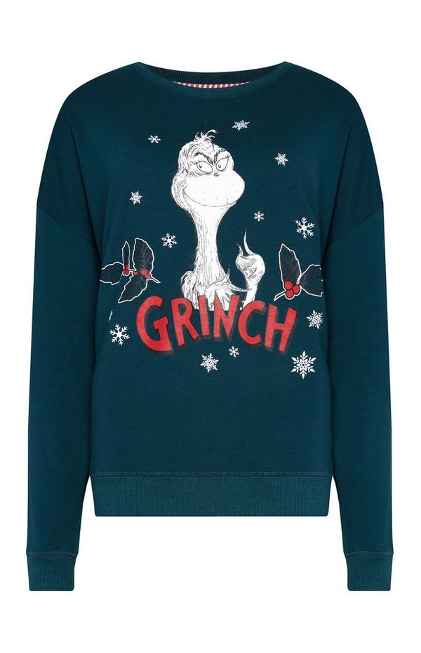 The Grinch Green Jumper