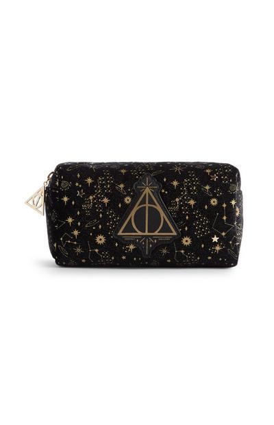 Bolsa maquilhagem veludo Harry Potter