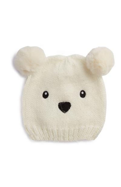 Eisbär-Mütze